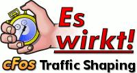 cFos / cFosSpeed DSL und Kabel Breitband-Beschleunigung mit Traffic Shaping, Tuning, optimaler Ping
