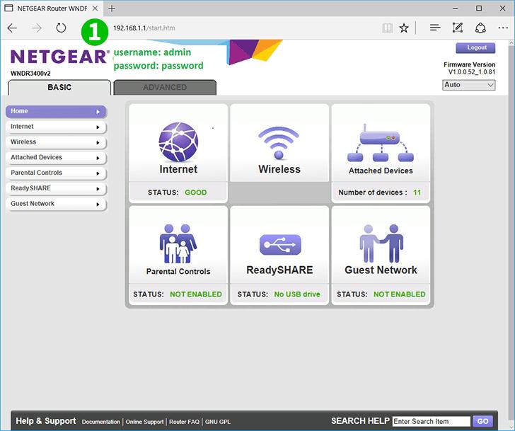 Enable port forwarding for the Netgear WNDR3400v2 - cFos