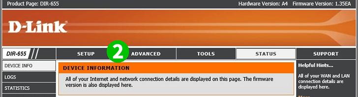 Enable port forwarding for the D-Link DIR-655 - cFos Software