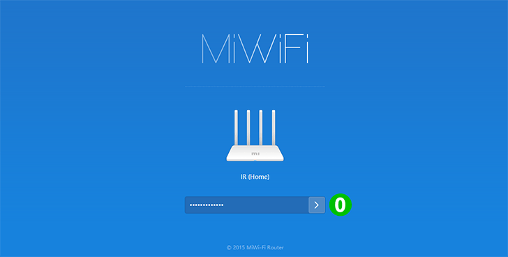Enable port forwarding for the Xiaomi Mi 3C - cFos Software